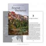 Book and cover design for 'Beyond Bucharest' by Bob Goddard