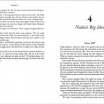 Mother Moon book – page design