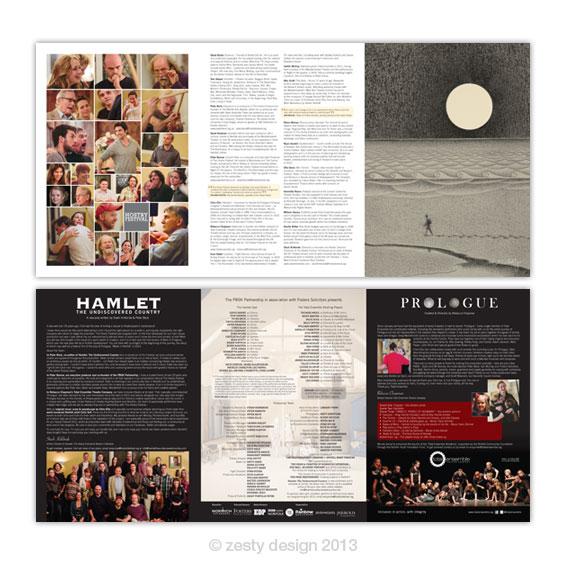 Hostry Festival 2013 programme design