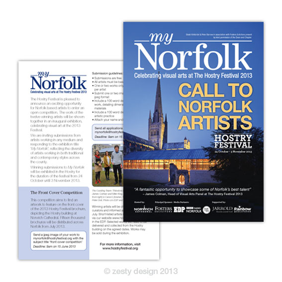 My Norfolk flyer design
