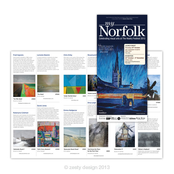 My Norfolk programme design