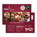 Pulse Restaurant card design