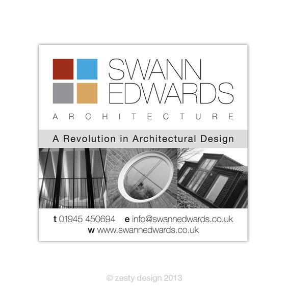 Swann Edwards Architecture advert design (1)